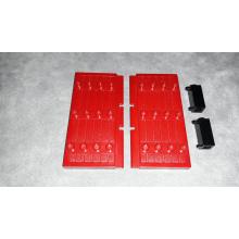 30223 + 3581 Porte Dark Red