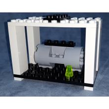 Container con Motore a Reazione