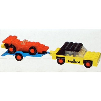 650 - Car with Trailer and Racing
