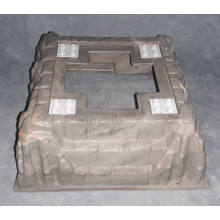 53588bp01 - Baseplate, Raised 16 x 16 No Studs with Cross Opening
