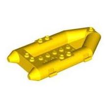 30086 - Yellow Boat, Rubber Raft, Small
