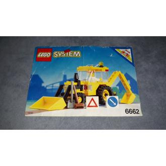 6662 - Escavatore (istruzioni)
