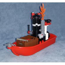 Barca a Motore dei Cercatori di Diamanti