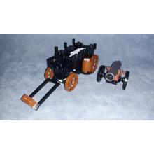 Carro porta munizioni con Cannone