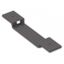2972 - Train Base 6 x 34 Split-Level with Bottom Tubes