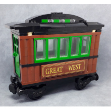 7597 - Carrozza Great West (parts of set)