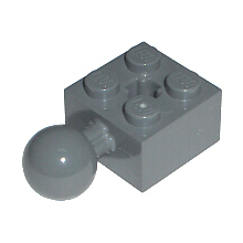 57909 - Technic, Brick Modified 2 x 2 with Ball and Axle Hole