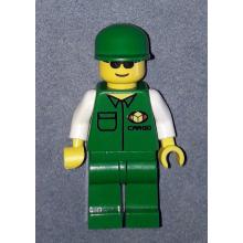 car003 - Cargo Green Shirt, Green Legs, Green Cap