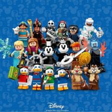 71024 - Minifigure Serie Disney 2 (Completa - 18 Minifigure)