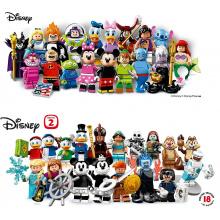 Minifigures Serie Disney 1 & 2 (Complete - 36 Minifigure)