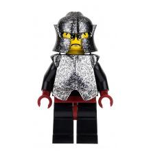 cas271 - Shadow Knight, Speckle Black-Silver Armor and Helmet