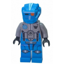 gs007 - Dark Azure Robot Sidekick