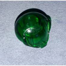 30214 - Trans-Green Minifigure, Headgear Helmet Round Bubble