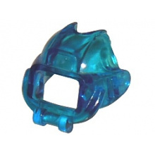 x41 - Trans-Dark Blue Minifigure, Visor Underwater