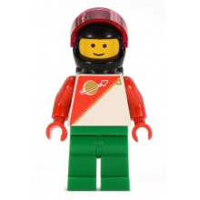 sp056 - Futuron - Red/Green with Black Helmet