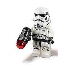 sw0997b - Stormtrooper (Dual Molded Helmet, Gray Squares on Back)