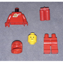 sp005 - Classic Space - Red with Airtanks