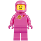 tlm108 - Classic Space - Pink with Airtanks and Updated Helmet (Lenny)