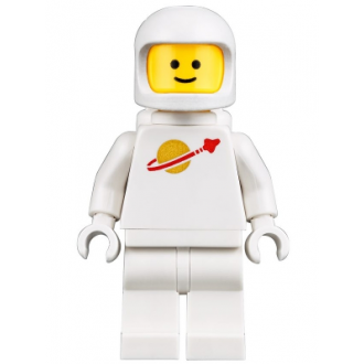 tlm110 - Classic Space - White with Airtanks and Updated Helmet (Third Reissue - Jenny)