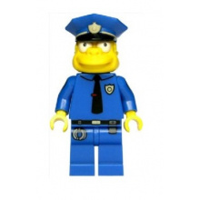 Chief Wiggum (Minifigure only Entry)