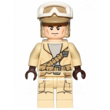 sw0688 - Rebel Trooper, Goggles, Dark Tan Helmet