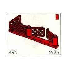 494 - Gates and Fence, Red (System)