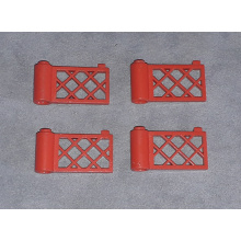 3186 - Red Fence Gate 1 x 4 x 2
