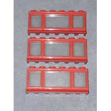 645bc01 - Window 1 x 6 x 2 with Extended Lip, with Glass