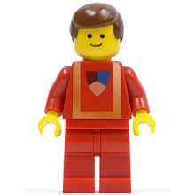 gen002 - Ghost with 1 x 2 Plate and 1 x 2 Brick as Legs