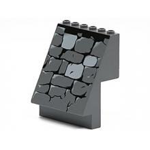 30156pb02 - Panel 4 x 6 x 6 Sloped with Stone Wall Pattern