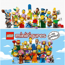Serie Simpsons 1 & 2 (Complete - 32 Minifigure)