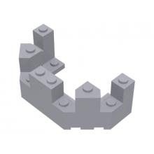 6066 - Castle Turret Top 4 x 8 x 2 1/3