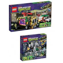79104 + 79105 - Ninja Turtles