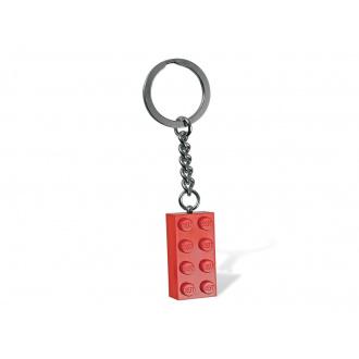 Portachiavi Lego® Brick Rosso