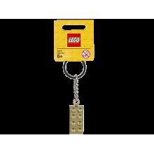 Portachiavi Lego® Brick Dorato